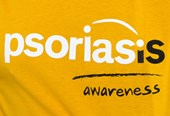 Psoriasis Awareness (from t-shirt)