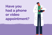 Telephone & video consultations survey (website news)