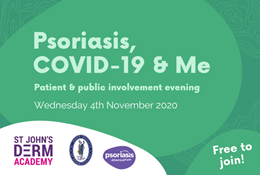 Psoriasis, COVID-19 and Me