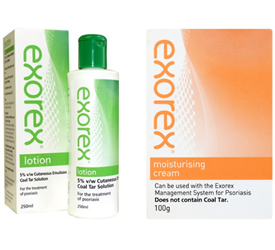 Exorex Lotion and Cream